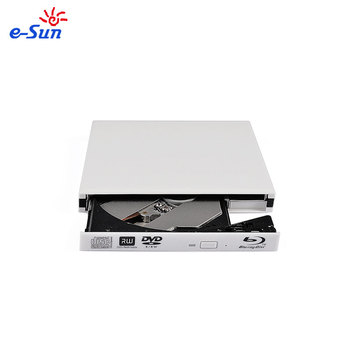 SATA External slim USB DVDRW DL DVD CD RW Blu ray Drive Player