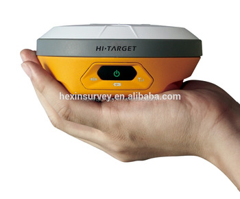 Professional Dual frequency GNSS RTK surveying Hi-target V100 RTK GPS base and rover