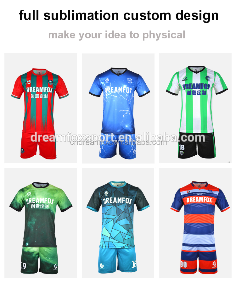 cad1e1fe9 Cheap Professional soccer jersey uniform manufacturer Custom Sublimation USA  Mexico football jersey new model for kids