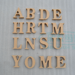 Wooden Plaque Words/Letters Free Standing Home Decoration
