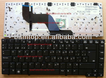 Spanish layout keyboard For hp Elitebook 8440 8440P 8440W (With Point Stick) 598042-071 594052-071 598042-161 594052-161