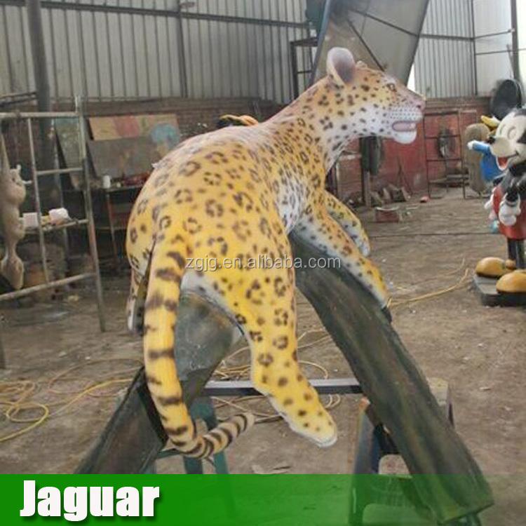 Fiberglass Statues Sculpture Life Size Large Animal Of Jaguar For ...