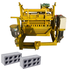 DMYF-4A Fly ash mobile concrete block making machine