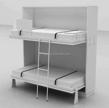 2017 Hot Sale Model Folding Bunk Bed Kids Bunk Bed For Bedroom