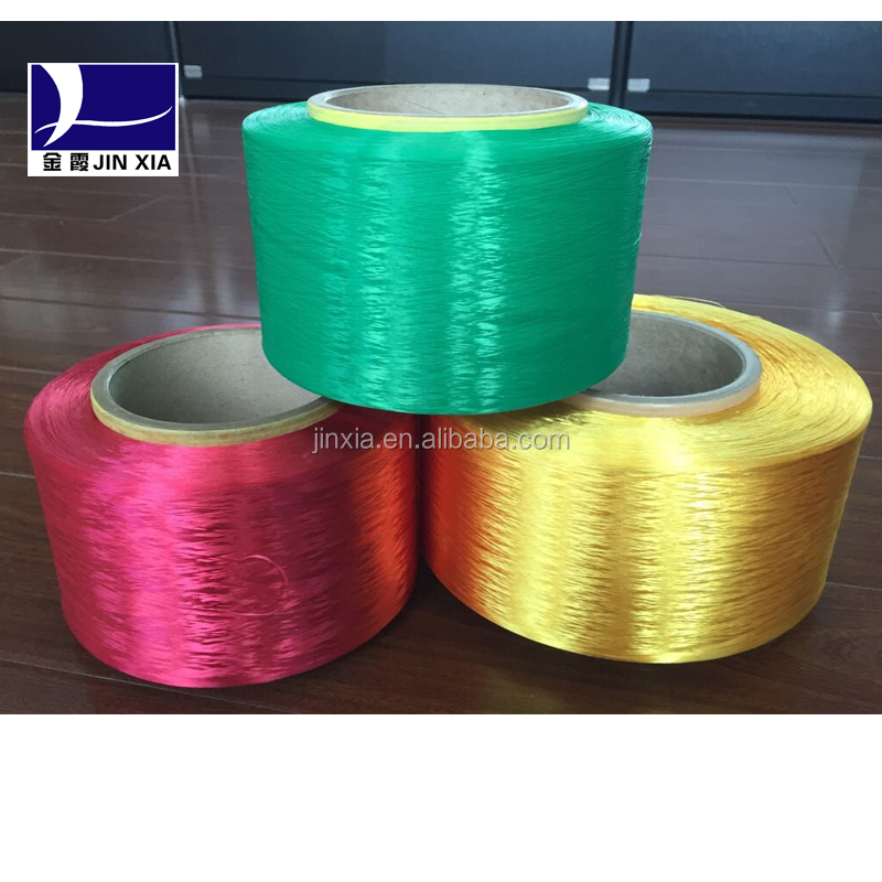 100% polyester dope dyed FDY 600D yarn in high color fastness