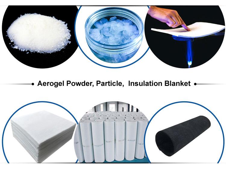 Best price oem thermal shock resistance high temperature aerogel heat insulation building materials