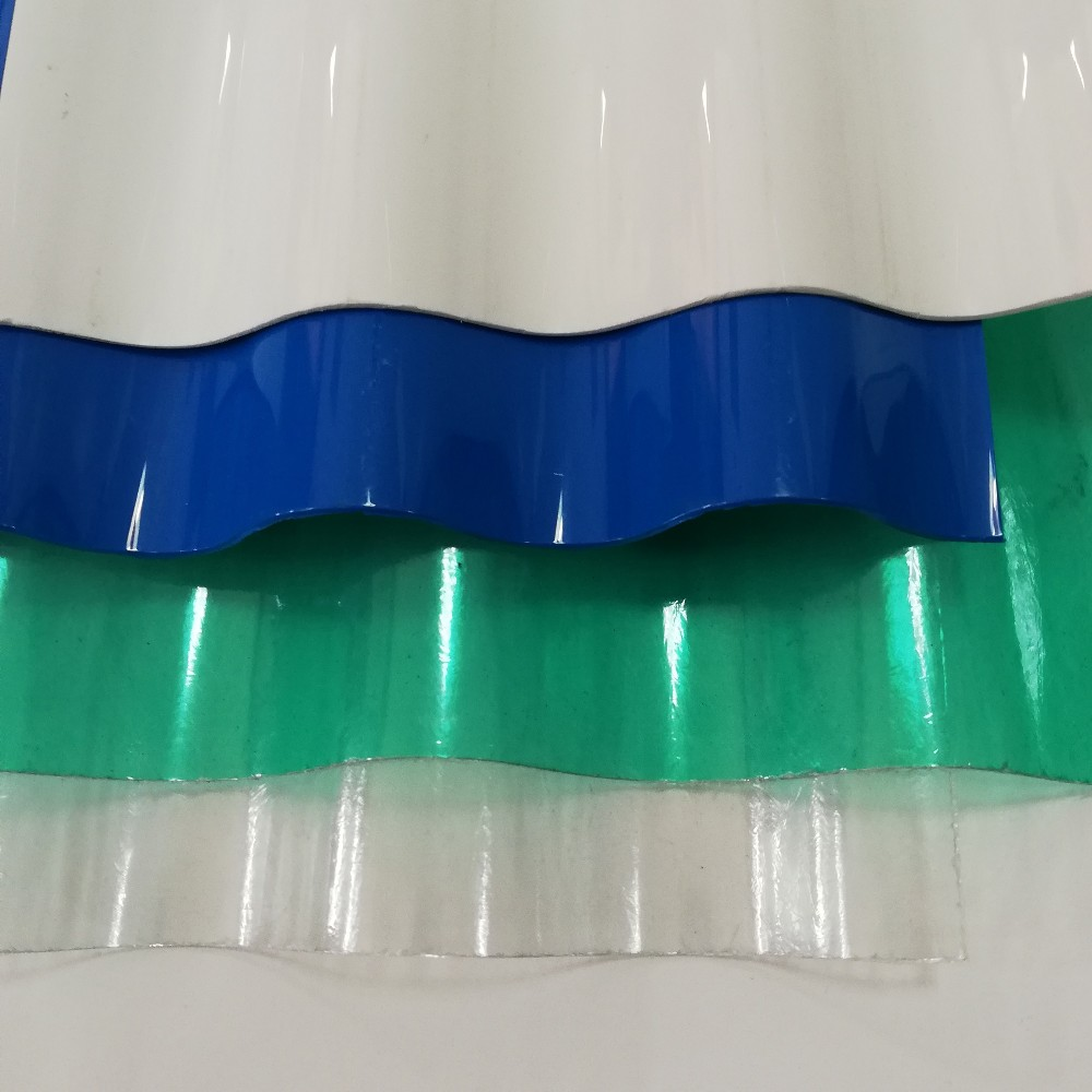 Grp Clear Corrugated Plastic Roofing Sheet Board Fiber ...