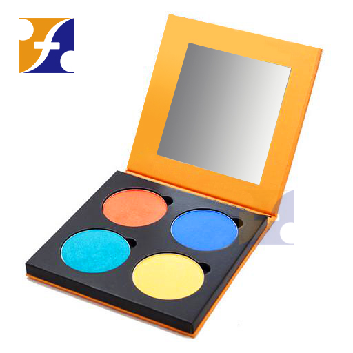 Empty eyeshadow pans packaging palette magnetic makeup/cosmetic palettes 4 6 8 10 colors