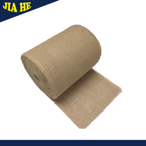 100% jute cloth eco friendly table cloth jute fabric (JF-026)