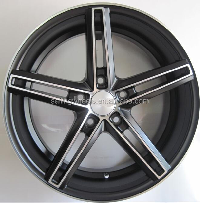5x112 mm auto alloy wheel rims for racing /sports car