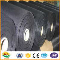 Best quality black wire cloth/black wire mesh cloth/plain black wire cloth