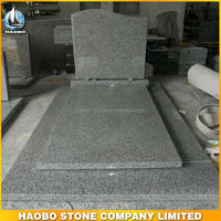Haobo Stone Cheap Grey Belgian G603 Cemetery Monuments