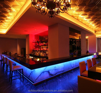 Led Color Changing Bar Counter Modular Luxury Bar Furniture - Buy ...
