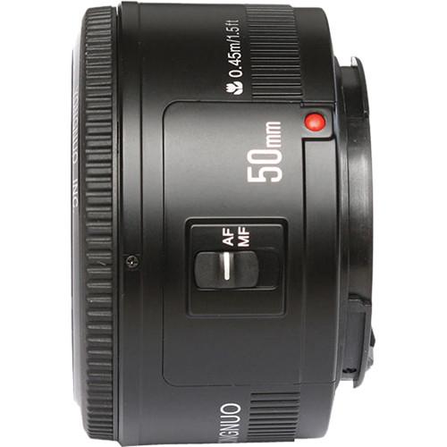 Yongnuo Yn 50mm F/1.8 Ef Lens