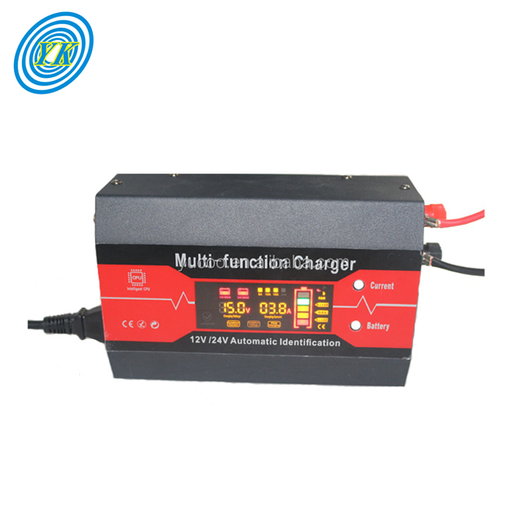 220v ac to 12v 24v dc 15a charger for lead acid battery
