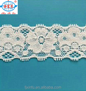 Narrow Trim Lycra Lace for Lingerie and Dress