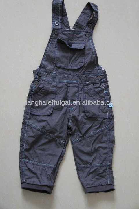 New style boys pants, suspender trousers