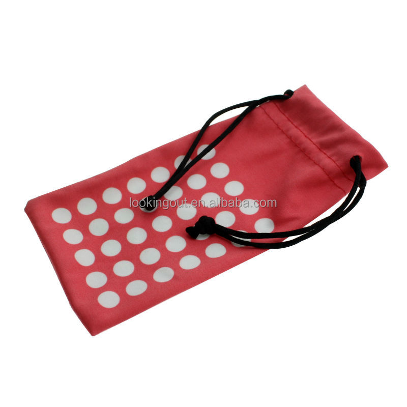 brands tailor made wholesale drawstring eyeglasses pouches