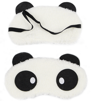 promotional panda sleep eye mask panda cotton eyemask