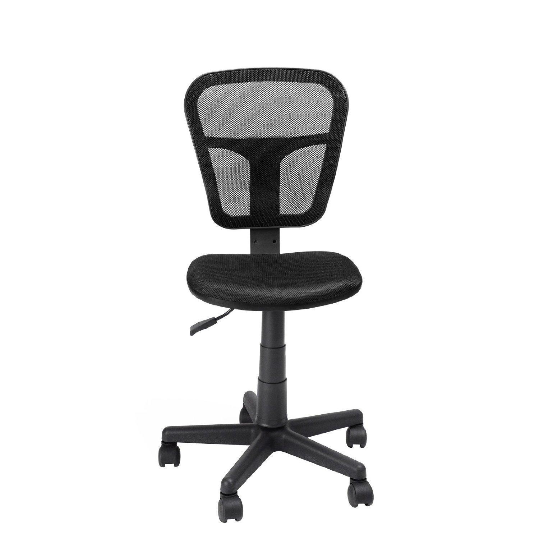 GreenForest® Comfort Ergonomic Mesh Mid Back Multifunction Swivel Office Chair, Office Task Chairs - Black