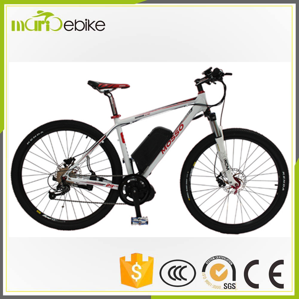 Factory selling high quality 29 inch fat mountain e bike with 750W 48V11.6A Li-ion battery in different size and color