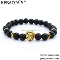Rebaccas Toppano brand Unique lion Stainless Steel Power designer bracelets,balance jewelry