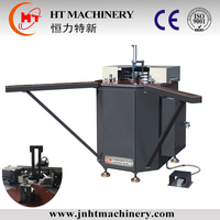 Factory price strongly steady Aluminum Window Door Frame Making Machine/Double Corner Crimping Machine