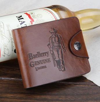 Pas cher marque Bailini hommes courtes portefeuilles Vintage carte de  bourse en cuir 10 modèles Promotion 559c784f70a