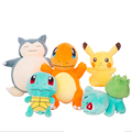 Pokemon Go plush dolls Pokemon plush toys Snorlax Pikachu Charmander Bulbasaur Squirtle stuffed toy