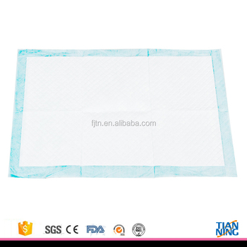 Easy Use Medical Incontinence Absorbent Disposable Underpadbed