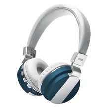 Aktif Kebisingan Membatalkan Headphone Bluetoot4.1 Headphone dengan MIC Deep Bass Wireless Headphone Over <span class=keywords><strong>Telinga</strong></span> MK3744
