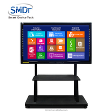 Small active mobile stand electronic interactive whiteboard 55 inch smart digital writing drawing board for sale