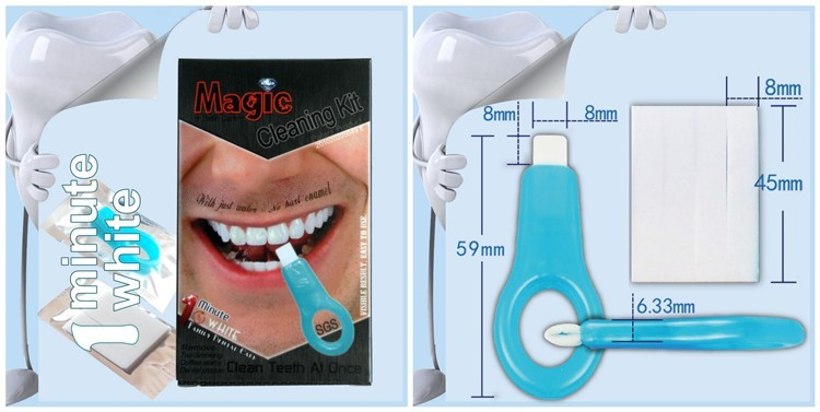 Patent Oral Strips Home use Magic teeth cleaning kit
