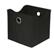 Quality Metal Ring MDF Board Foldable Storage Box Cube Foldable
