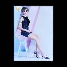 Shopping Mall Advertising Backlit Aluminum Material Frame Fabric Light Box