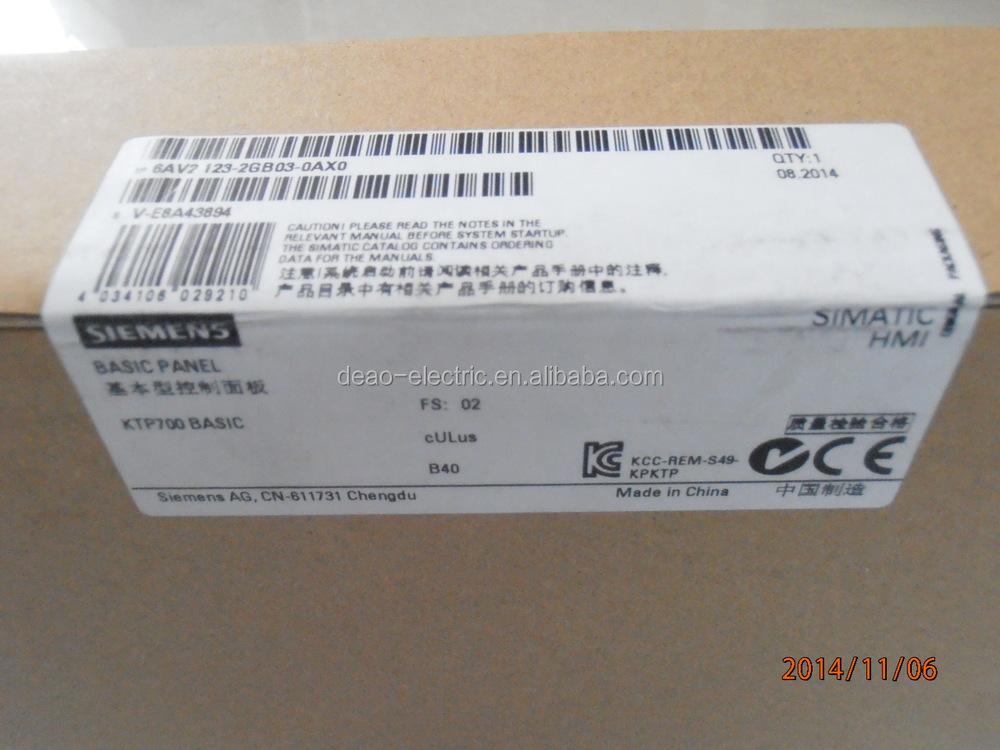 Siemens Hmi Ktp400 Basic / Ktp700 Basic /kp700/tp1200 Basic Touch ...
