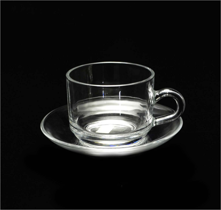 clear turkish tea glass and saucer,glass cup set,glass coffee cup