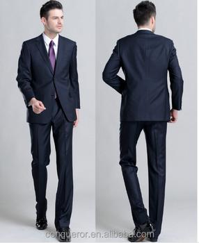 a9e4607c745aa 2015 Modern Stil Erkek Slim Fit Iş 2 Düğme Takım Elbise - Buy ...