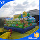 Giant kids inflatable playground inflatable play center