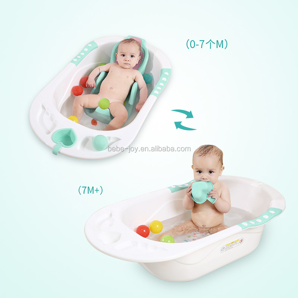 Baby Bathing Pad Newborn Anti-slip Sponge Foam Pad Bath Tub Infant Shower Care