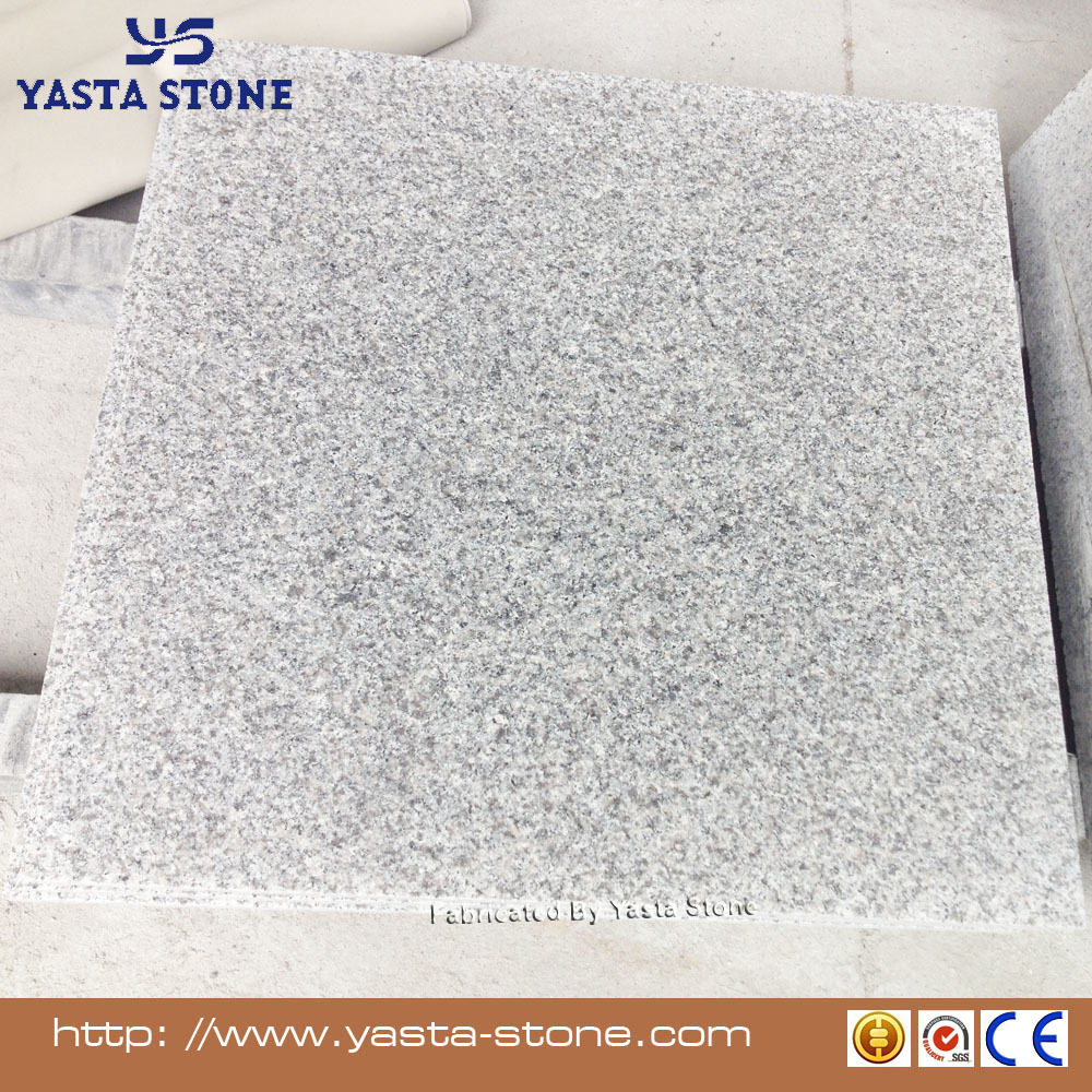 Wholesale G623 Grey White Flamed Granite Floor Tiles