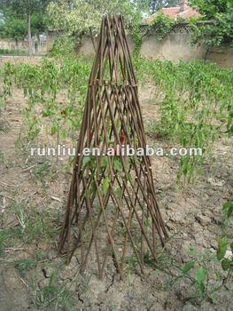 Willow Obelisk For Garden Decoration