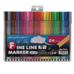 Sketch Drawing digital Pen,Fineliner Pen Pack of 24 Assorted Colors