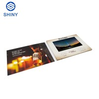 Custom High Quality 7 inch lcd video card/lcd video greeting card