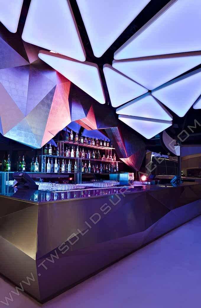 Led Juice Bar Counter For Sale Round Illuminated Led Bar Counter ...
