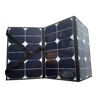 semi-flexible foldable 12v 60w 100w 120w solar panels for car