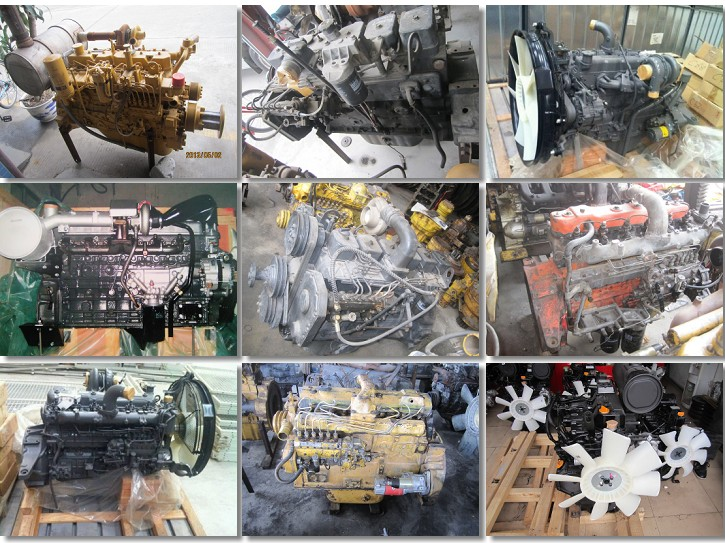 High quality OEM 6D102 engine long cylinder block assy 6BT cylinder block assy