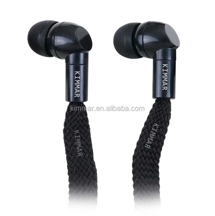 Novelty Waterproof IPX8 perfectly for Swiming underwater wired stereo shoelace earphone