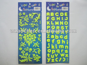 glow dark ceiling sticker for room decor