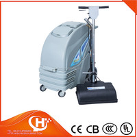 Split carpet extractor carpet cleaning machine